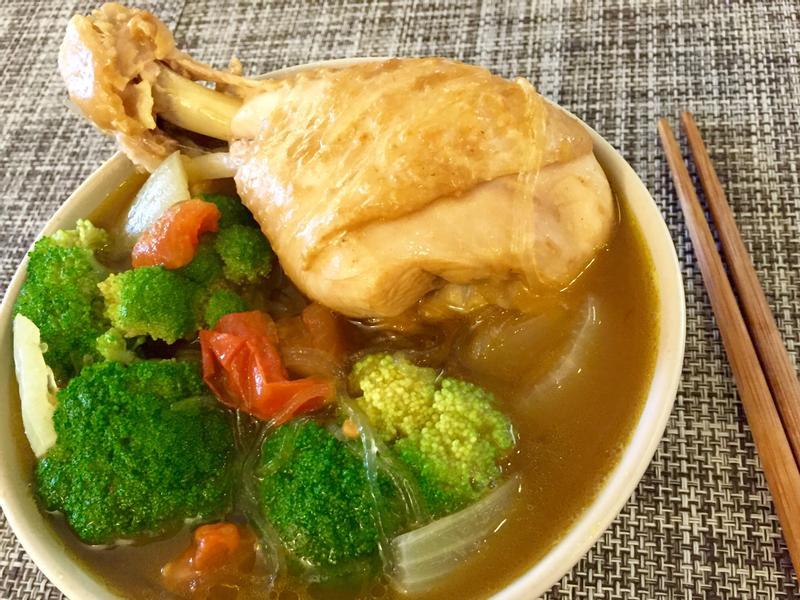 超簡易咖哩雞湯冬粉