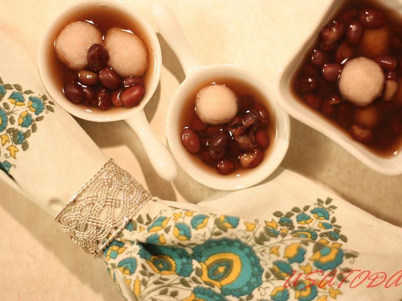 【甜牙齒】不去九份也吃的到-紅豆芋圓湯