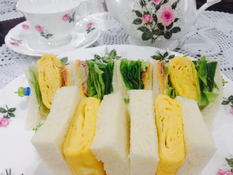 玉子燒三明治