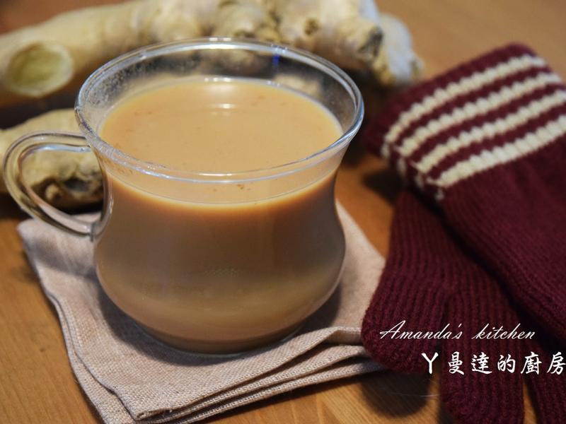 暖薑奶茶【立頓奶茶】