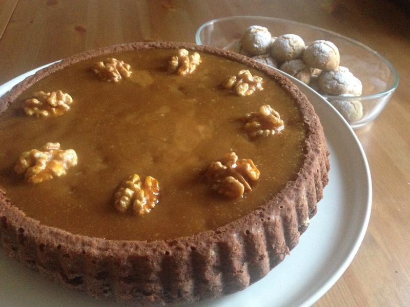蛋糕19---巧克力太妃蛋糕塔