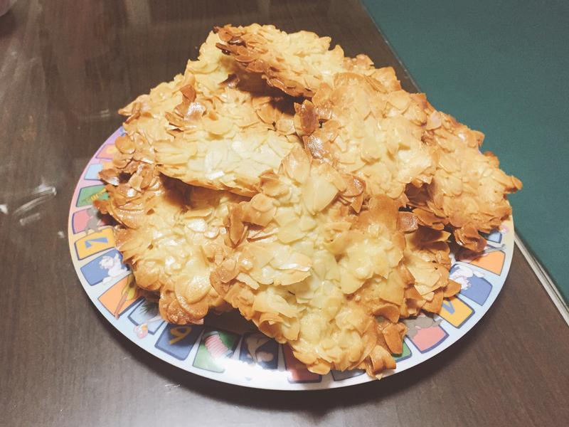 杏仁瓦片(橄欖油健康版)