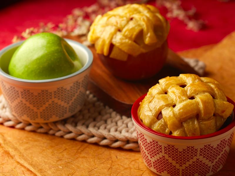 香酥蘋果盅