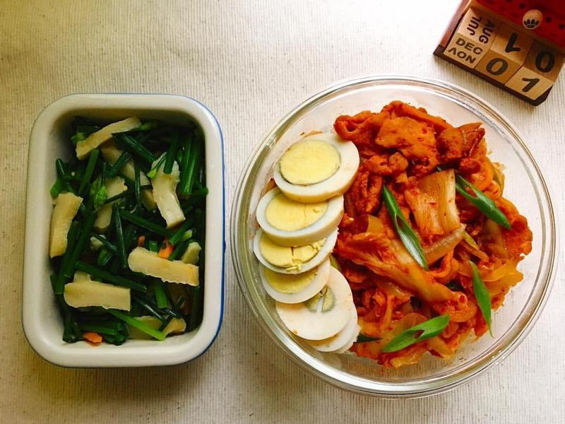 [每日便當] 泡菜豬肉蓋飯