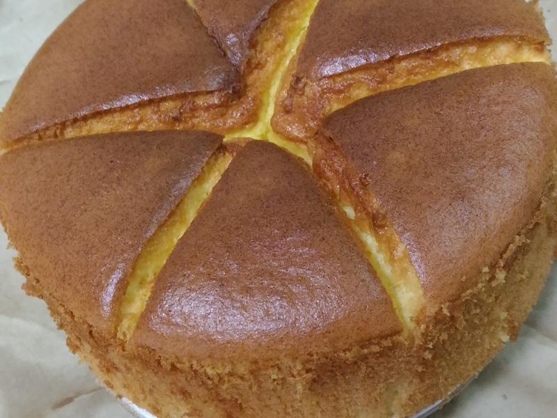 百香果橙汁戚風蛋糕