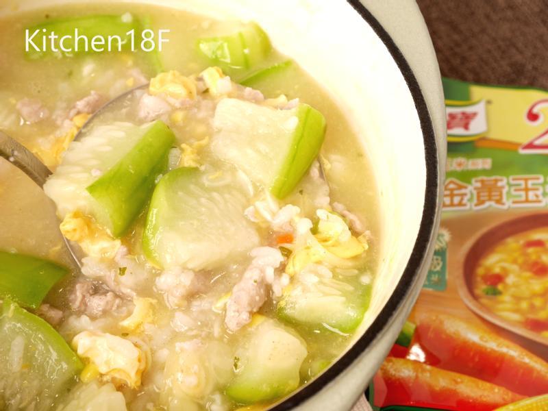 鮮甜絲瓜粥_零廚藝10分鐘