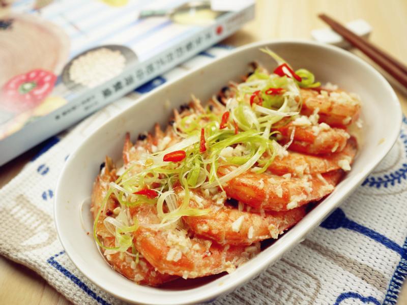 台式蒜蓉蒸鮮蝦