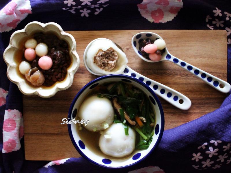 米磨湯圓(粿粹)