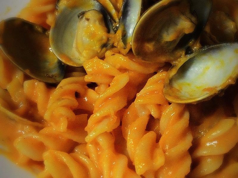 南瓜蛤蜊義大利麵
