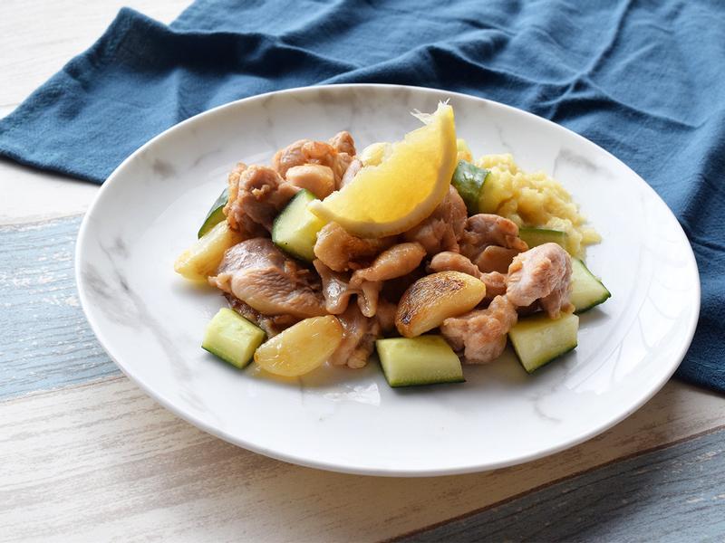 超簡易檸檬蒜油雞