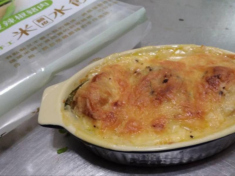 焗烤海鮮元寶 【華師父水餃】