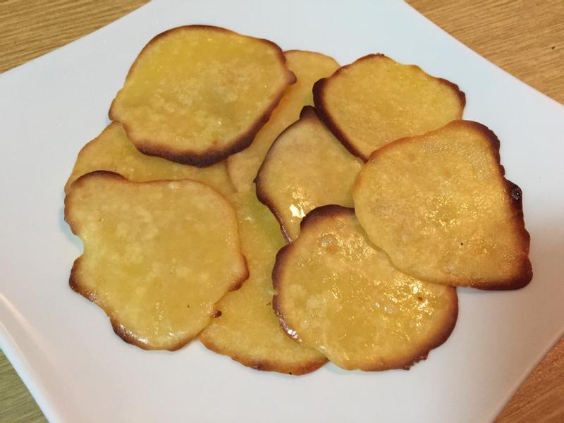 橙汁蜂蜜薄脆米烤餅