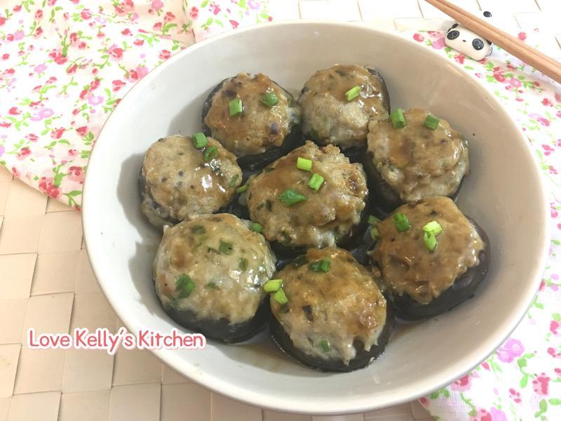 蠔汁魚肉釀冬菇