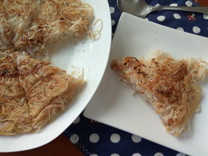 十分鐘早餐─麻油煎麵線