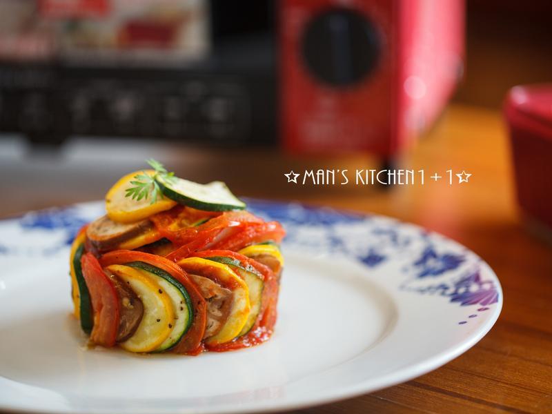 (蔬食)普羅旺斯燉菜【聲寶多功能烘焙箱】