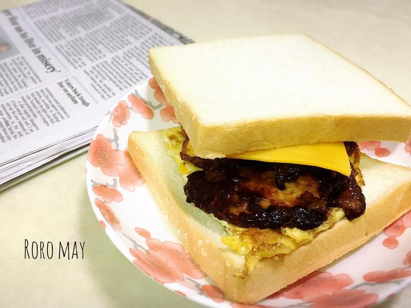 薑汁燒肉三明治