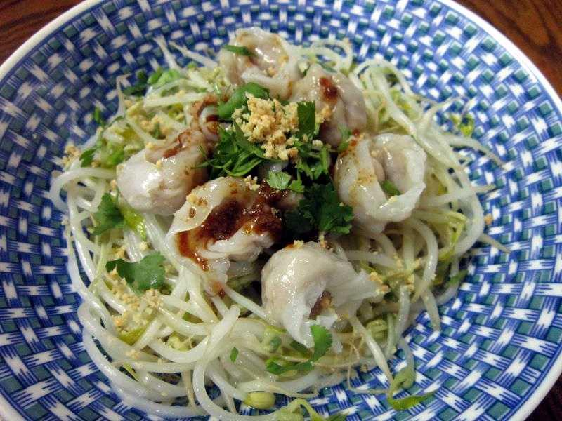 M@NDY上菜_麻醬紅油魚餃抄手