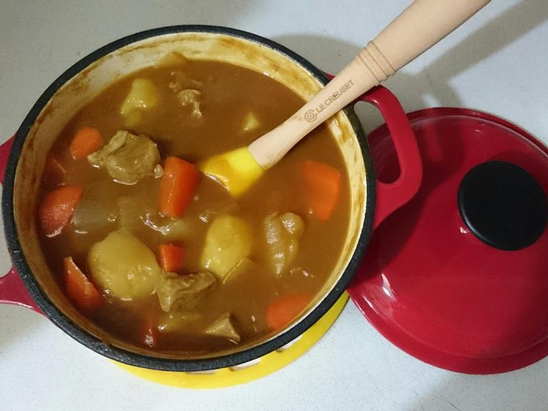 咖哩飯【鑄鐵鍋】