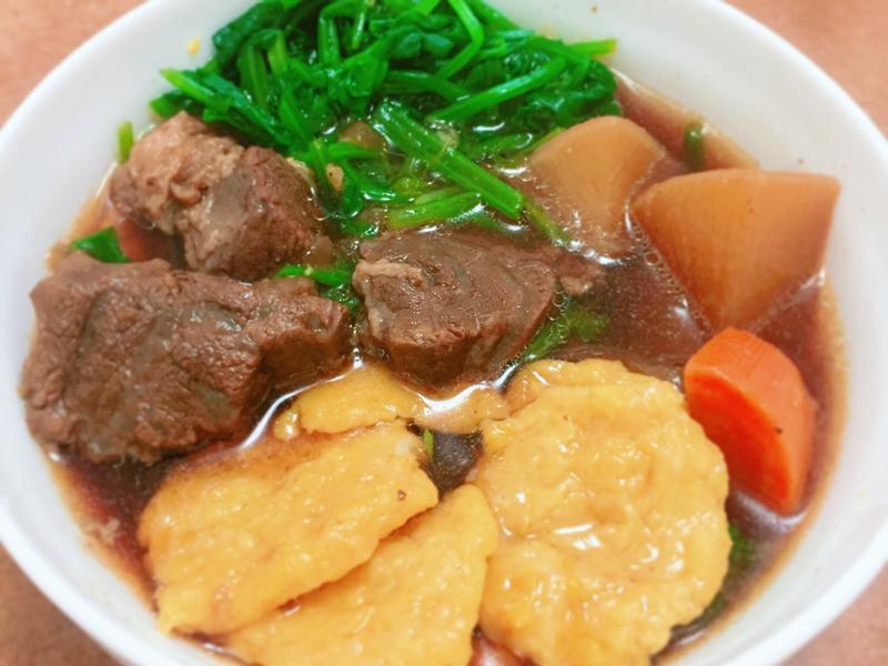牛肉湯南瓜麵疙瘩