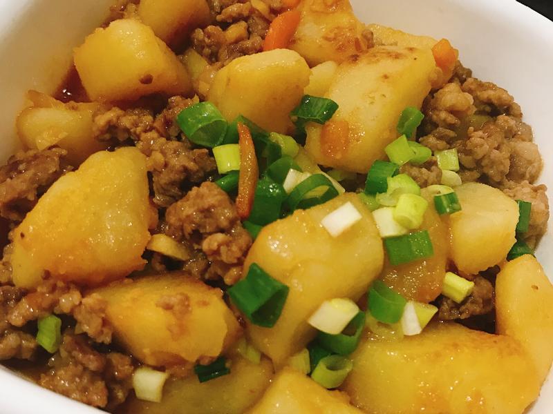 豆瓣燒馬鈴薯