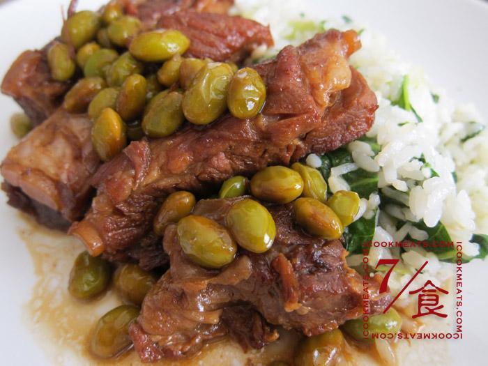 【7/食】毛豆排骨與菜飯