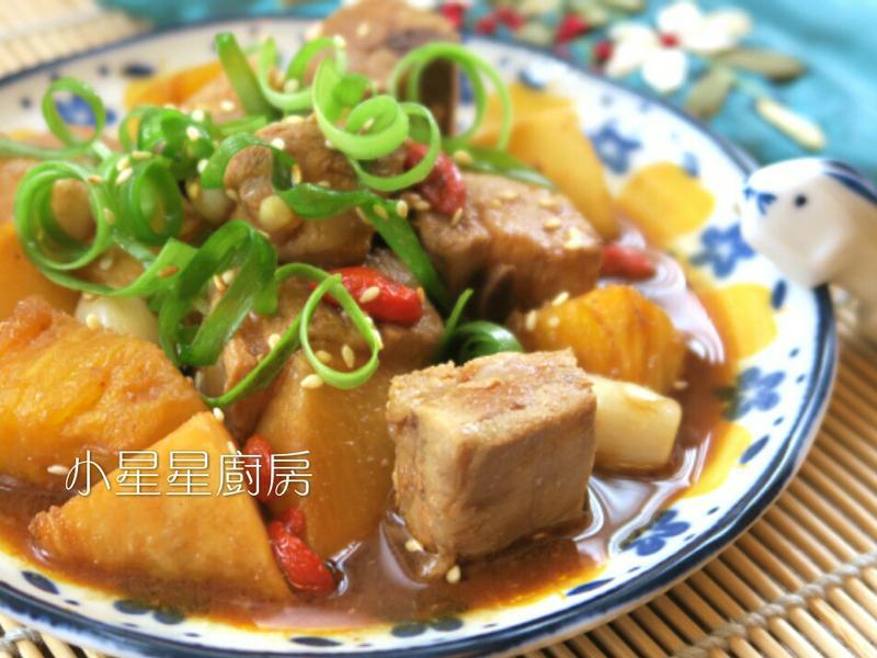 京醬鳳梨排骨(水波爐)
