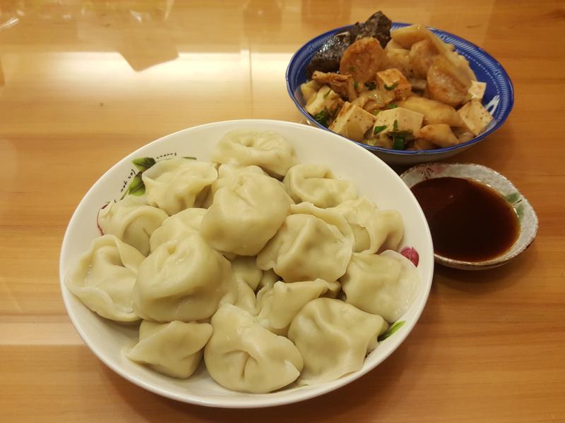 KA食物調理機 - 高麗菜豬肉水餃
