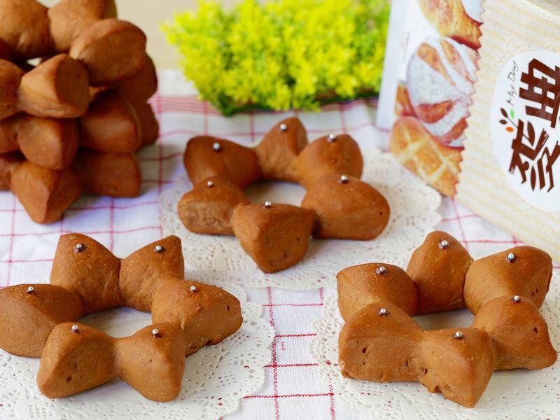 聖誕節巧克力星星麵包【麥典麵包專用麵粉】