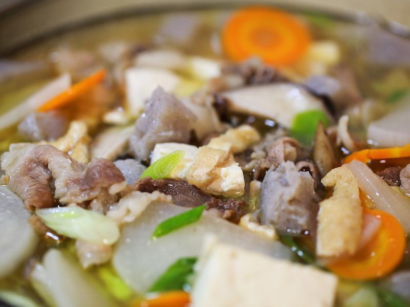 豚汁味噌湯 - 深夜食堂