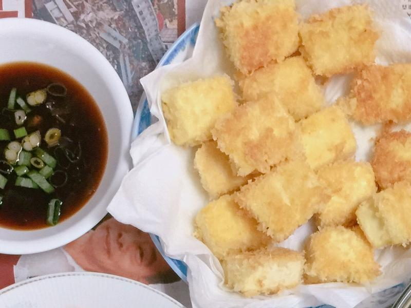 日式酥炸豆腐💕
