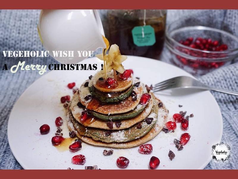 耶誕限定🎄 許願聖誕樹鬆餅【純素】