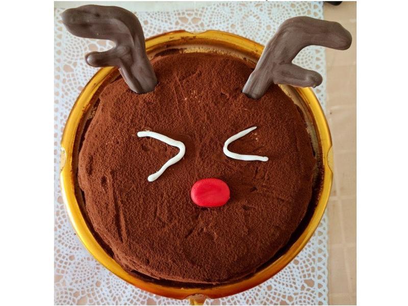 聖誕版麋鹿提拉米蘇
