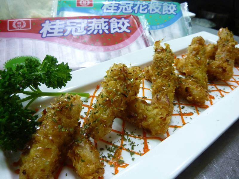 桂冠極品  蝦餃章魚燒