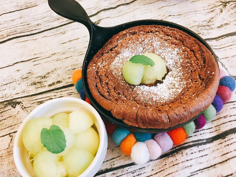 香Q可口!巧克力荷蘭鬆餅