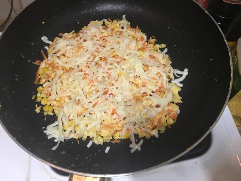 熱愛乳酪絲玉米蘿蔔蛋