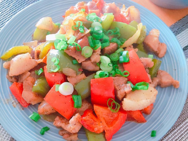 黑胡椒彩椒燒肉