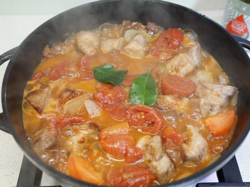 下飯便當菜~升級版椰子油番茄燉肉