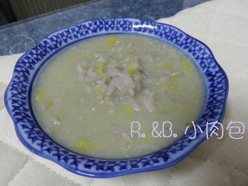 寶寶副食品-地瓜小魚母奶粥