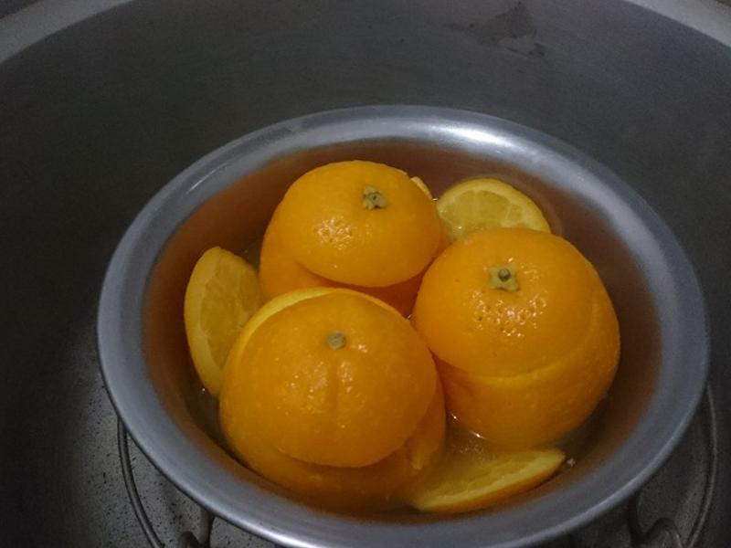 治咳聖品-蒸柳橙