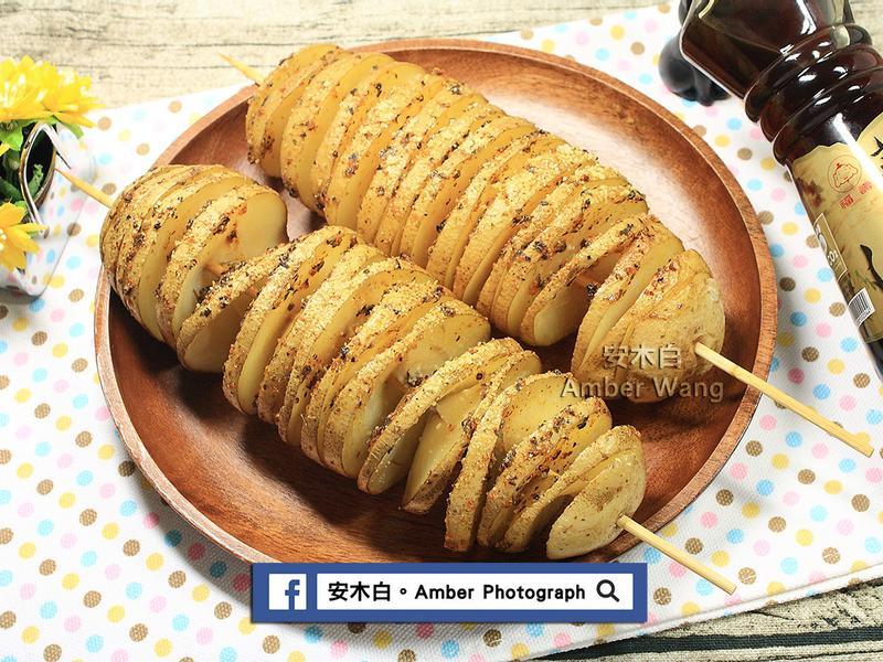 旋轉馬鈴薯【福壽純芝麻油玩料理】