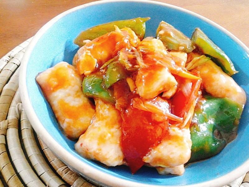 糖醋魚柳一超簡單,不需油炸也美味