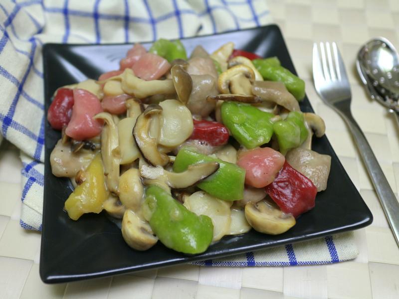菇菇白醬麵疙瘩-純素【芊然五行麵疙瘩】