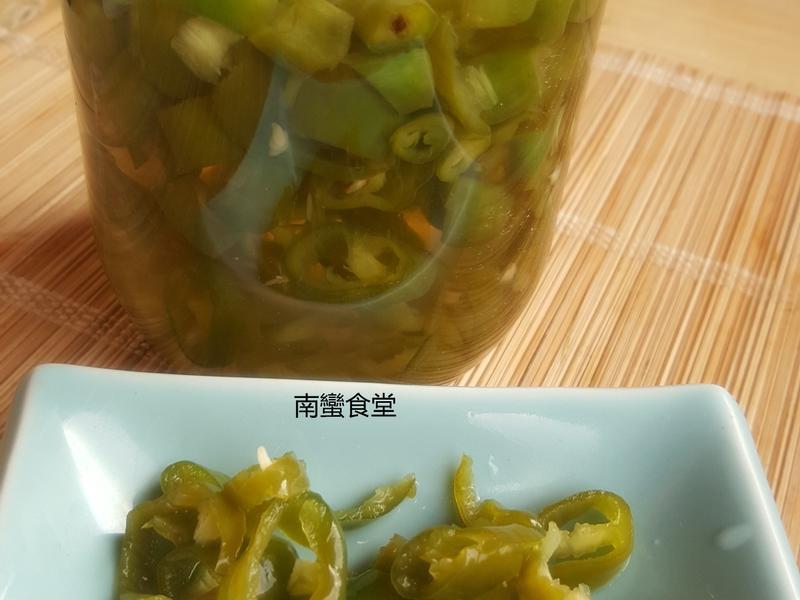 [南洋/中華]醋腌青辣椒
