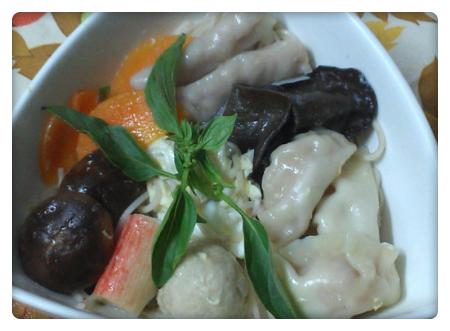 ㄚ曼達的廚房~幸福餃蕎麥麵
