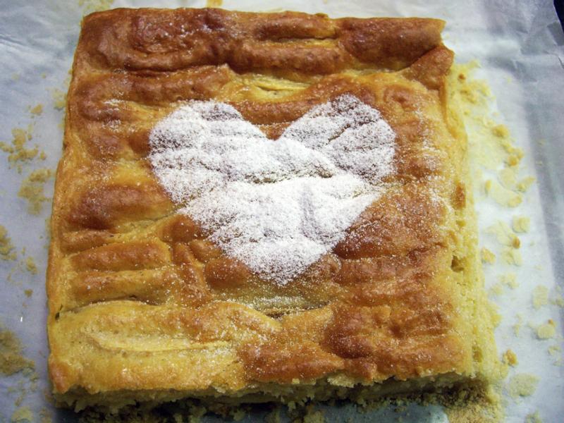 開心蘋果蛋糕♥Oly*