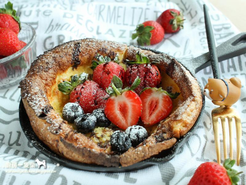 草莓 ❤ 荷蘭寶貝鬆餅