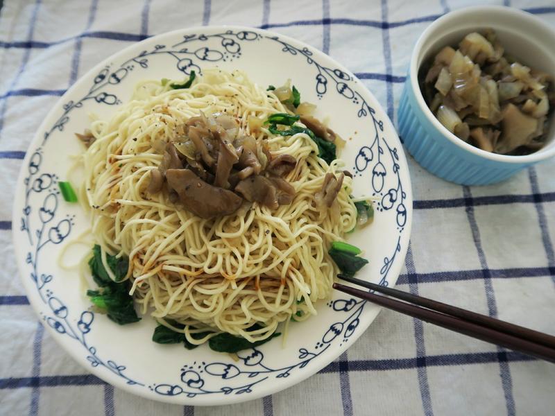 和風洋蔥舞菇醬拌麵【零失敗&素食可】