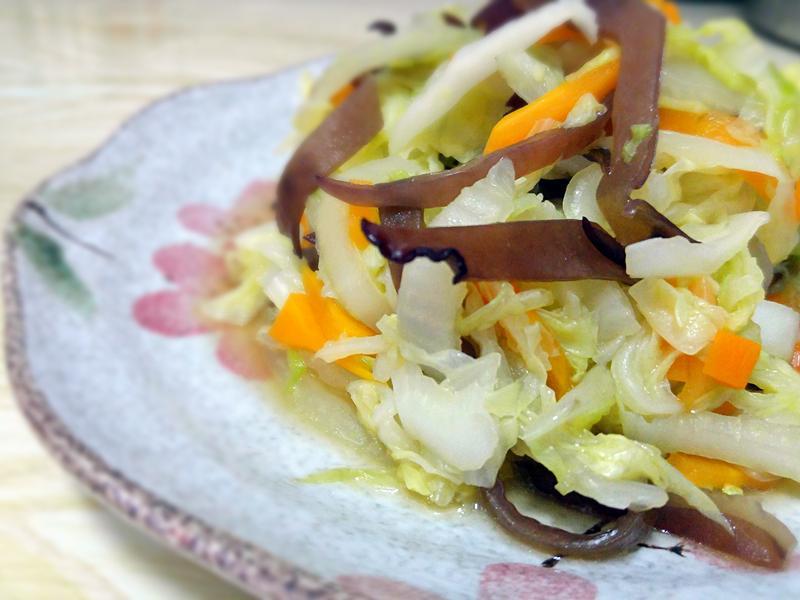 絲絲入扣,炒大白菜