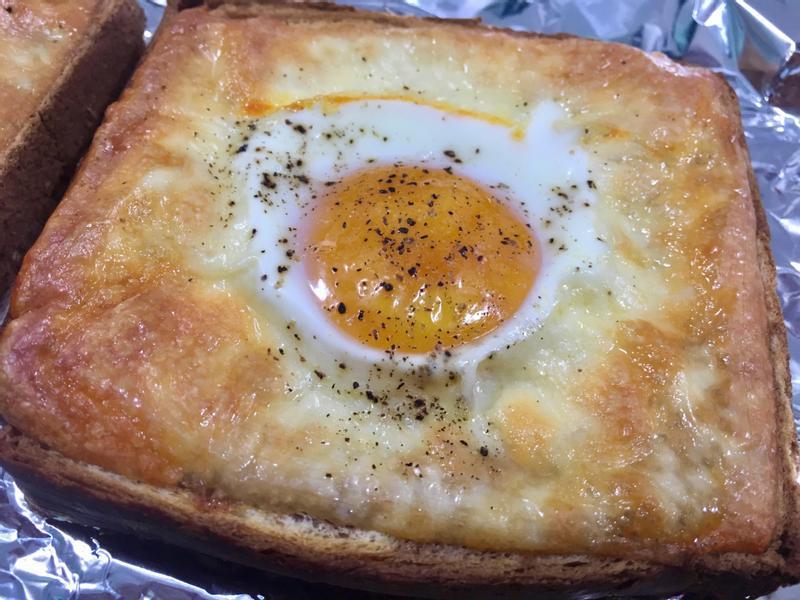 太陽蛋土司