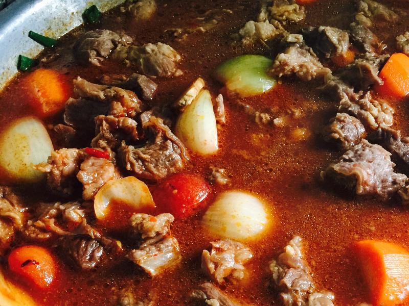 番茄洋蔥燉牛肉#免顧火